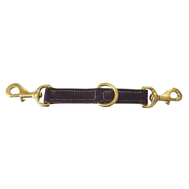 Lunge Strap Leather SB Hardware - HorseTackCo.com