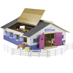 Breyer Farms Stable Playset 59215