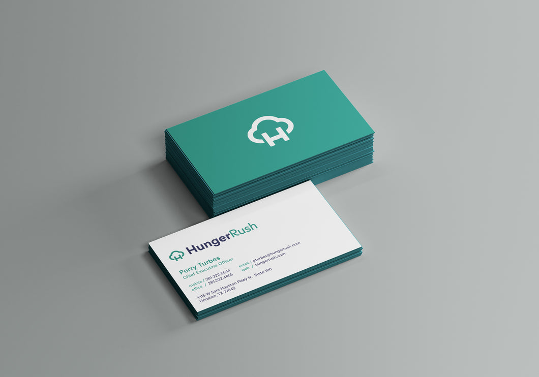 HungerRush Employee Business Cards