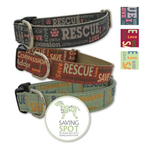 Saving Spot Rescue Dog Collars