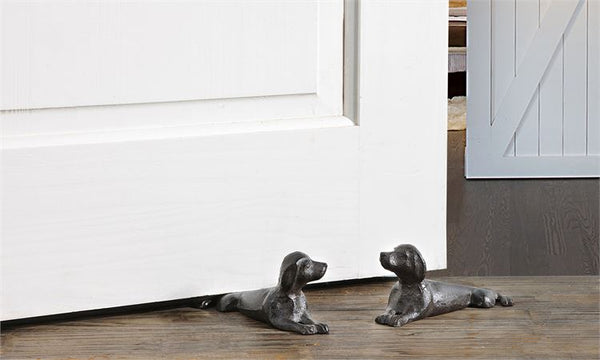 Cast Iron Dog Shaped Door Stop