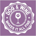Dogs & Wine Womens T-Shirt