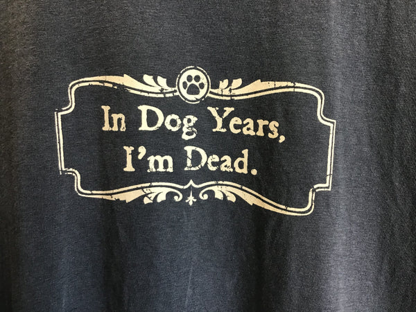 In Dog Years, I'm Dead