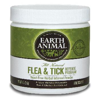 Earth Animal Herbal Flea & Tick Powder (8oz. yeast free)