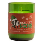 Rescued Wine Holiday Candle