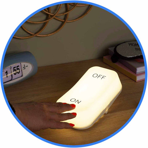 veilleuse lampe interrupteur on off