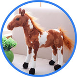 Peluche Cheval : Ferghana, Paint horse, Poney Hucul, l'Appaloosa