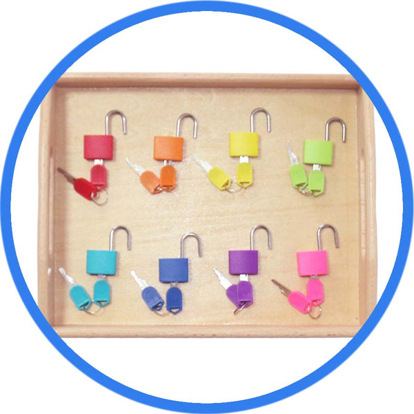 Montessori Education Ensemble de Cadenas 8 cadenas ouverts