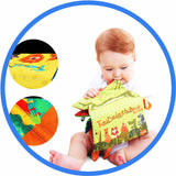MontessoriHochet Livre Queue animale enfant joue