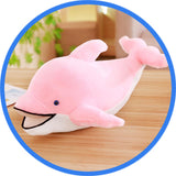 Peluche Dauphin sourire rose