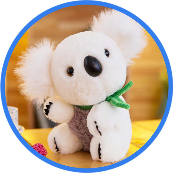 Peluche Koala Kawaii Cartoon blanc