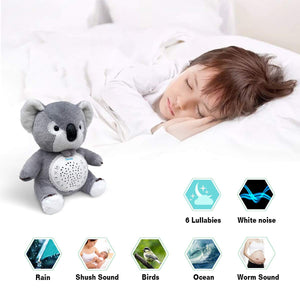 Samxic White Noise Baby  Sleep Soother pgraded Koala