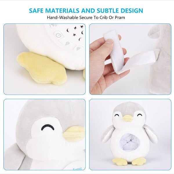 Samxic White Noise Baby Sleep Soother Penguin