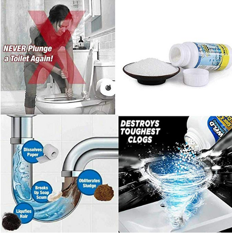 Buy 1 take 2 Household Cleaner,Powerful Sink and Drain Cleaner Chemica –  Shopping Sentral™ Intl.