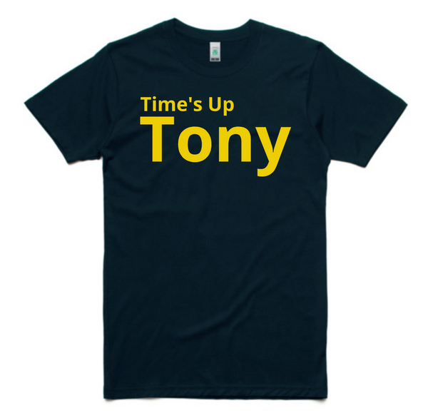 Unisex - Time's Up Tony - Navy Gold