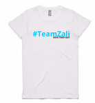 Womens - #TeamZali - White