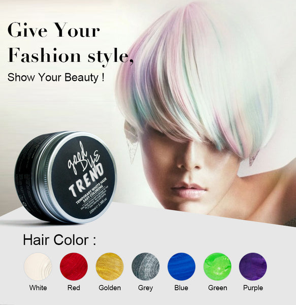 7 Colors Disposable Color Hair Wax