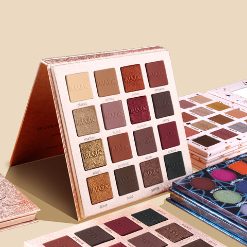 16 Colors Palette Shimmer Eyeshadow