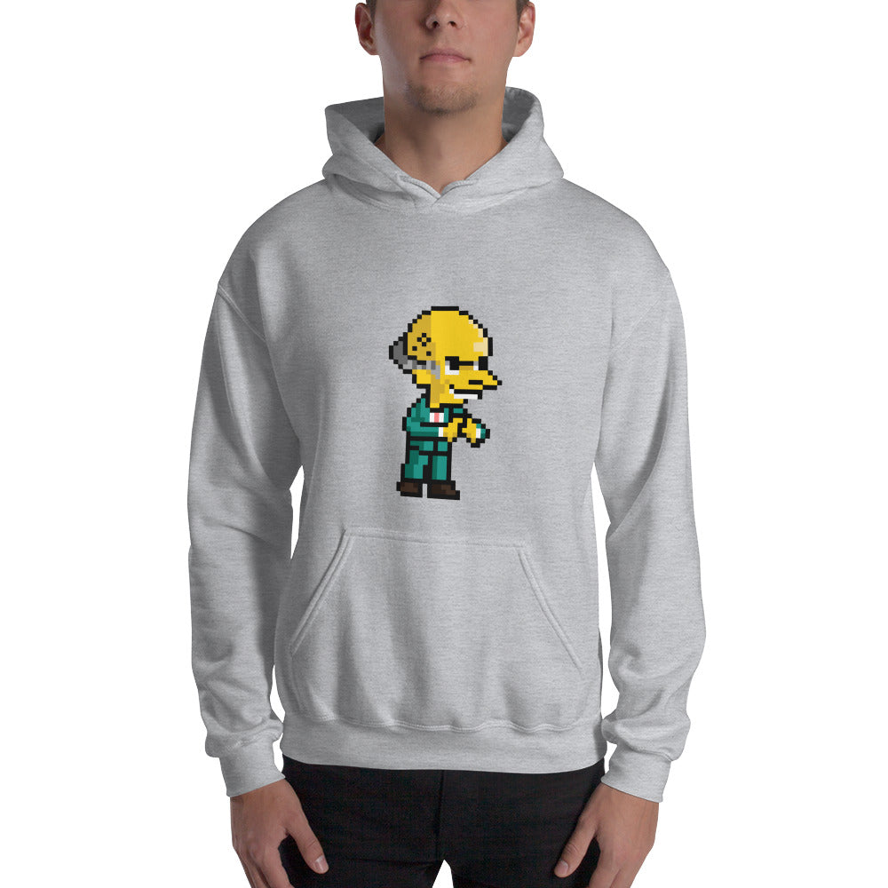 The Wealthy Businessman Hooded Sweatshirt