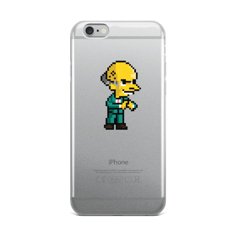 The Wealthy Businessman iPhone Case