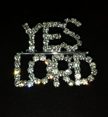 Crystal Pin - Yes Lord