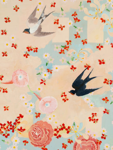 Susan Homer oil painting: Swallow, Swallow, Flying, Flying