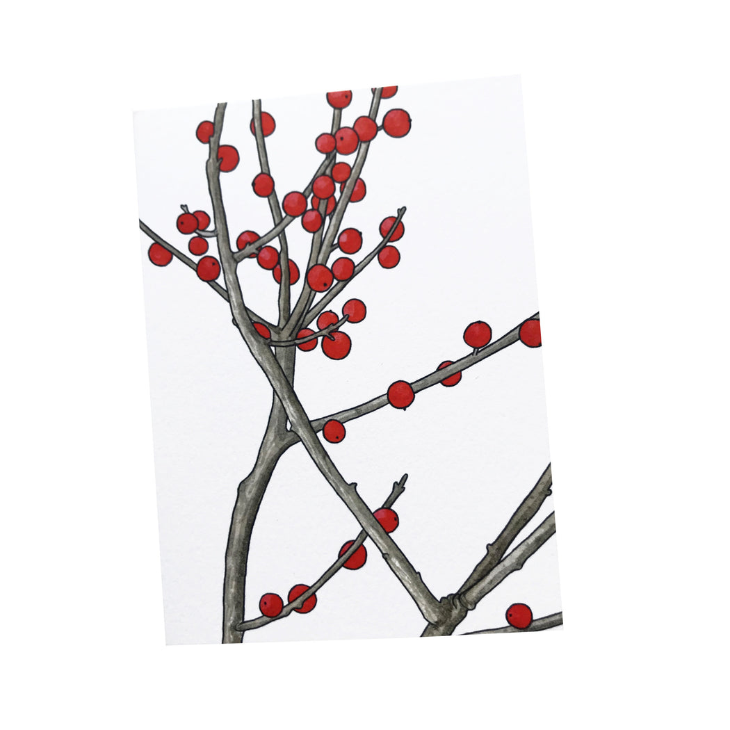 Winterberry Note Cards