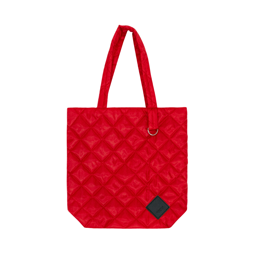 Colour-Field Simple Tote - Red