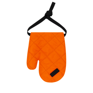Colour-Field Mitten - Orange