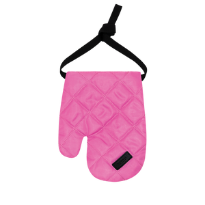 Colour-Field Mitten - Pink