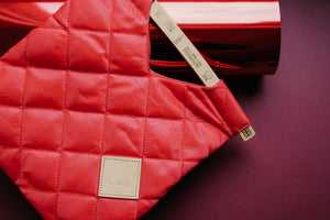 Colour-Field Tote S - Red