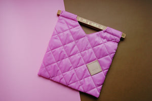 Colour-Field Tote S - Pink