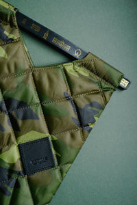 Colour-Field Tote S - Camouflage