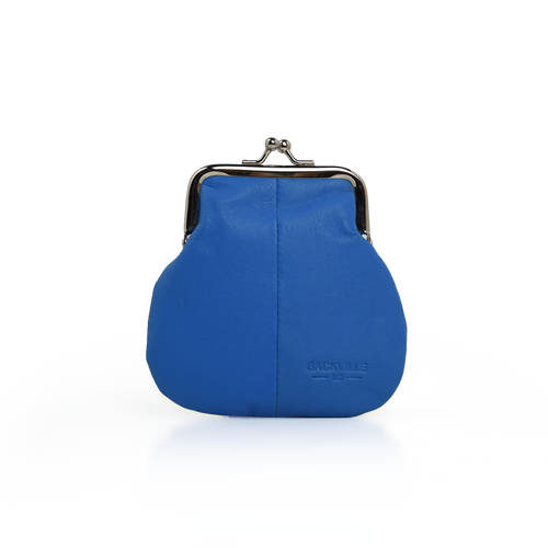 Kisslock Coin Case - Blue