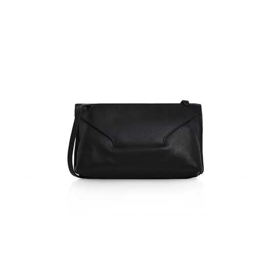 Long Strap Purse - Black