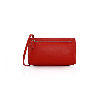 Long Strap Purse - Red
