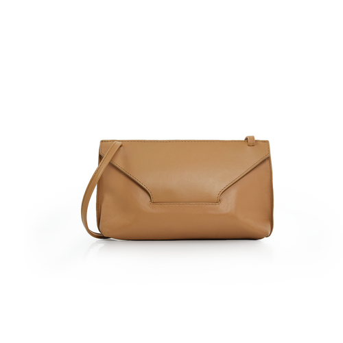 Long Strap Purse - Camel