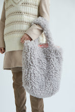 Load image into Gallery viewer, Colour-Field Simple Tote - Grey Fur