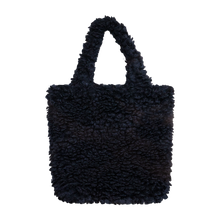 Load image into Gallery viewer, Colour-Field Simple Tote - Black Fur