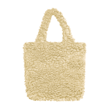 Load image into Gallery viewer, Colour-Field Simple Tote - Cream Fur