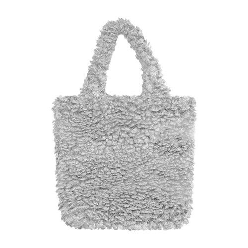 Colour-Field Simple Tote - Grey Fur