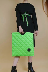 Colour-Field Tote L - Green