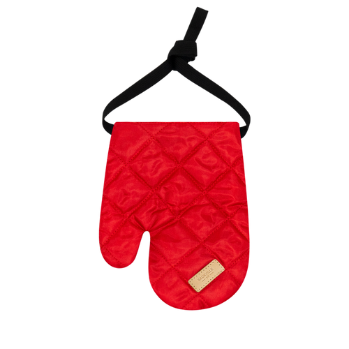 Colour-Field Mitten - Red