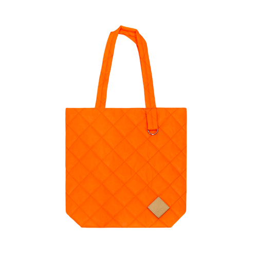 Colour-Field Simple Tote - Orange