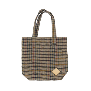 Colour-Field Simple Tote - Check