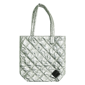 Colour-Field Simple Tote - Silver