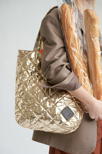 Colour-Field Simple Tote - Gold