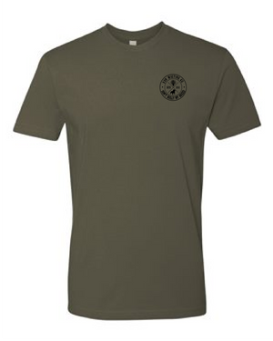 Don't Bully My Breed OD Green T-Shirt