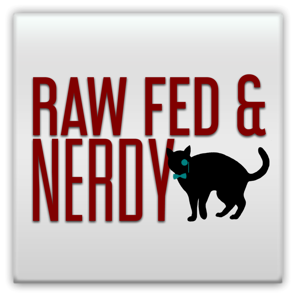Cat Raw Fed and Nerdy Magnets