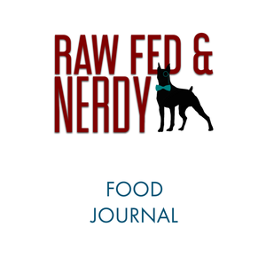 Raw Fed and Nerdy Notebook (US)